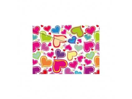 obal pp s patentkou a5 love hearts