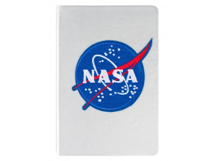 Notes NASA stříbrný A5
