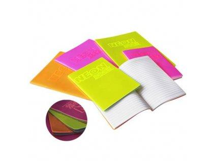 Školní sešit 444 A4/40 listů NeonBook