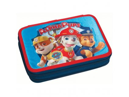 paw patrol alpha pups ready for action pencil case full