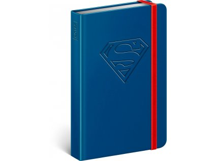 notes superman logo linkovany 10 5 x 15 8 cm 5 2