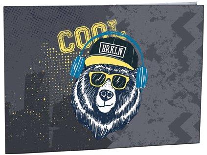 Desky na číslice Stil - Cool bear