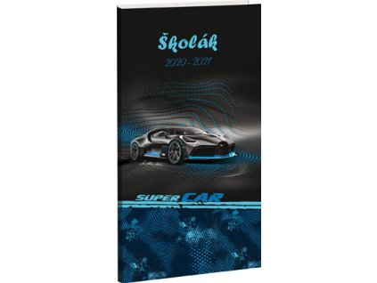 Diář Školák Stil - Super Car