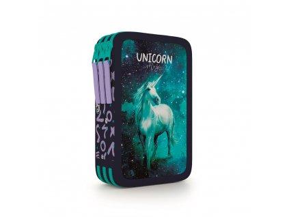 Penál 3 patra - prázdný Unicorn 1