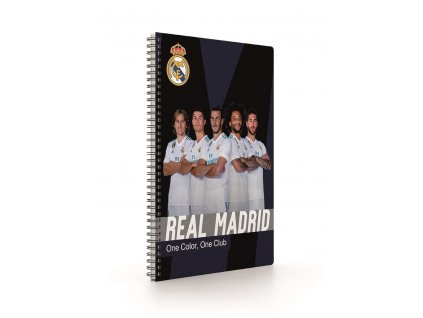 Twin wire blok A4 Soft Real Madrid