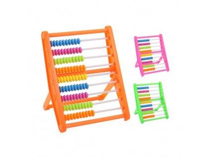 pocitadlo plastove 10 5x14 5x8 5 cm mix 3 barev