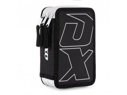 Penál 3 p. prázdný OXY Sport BLACK LINE white