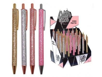 Glitterové pero
