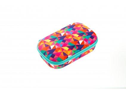 Školní penál - Zipit Colorz box Colorful