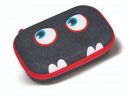 Školní penál - Zipit Wildlings box Black