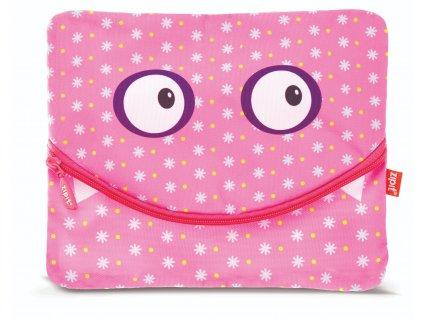 Zipit Googly Smile velký penál / pouzdro Pink