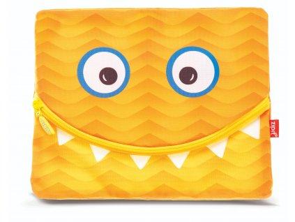 Zipit Googly Smile velký penál / pouzdro Orange