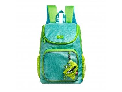 Zipit Wildlings Premium batoh Green s mini kapsičkou zdarma
