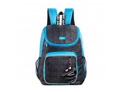Zipit Wildlings Premium batoh Black s mini kapsičkou zdarma