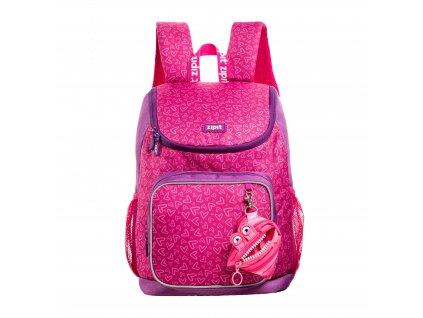 Zipit Wildlings Premium batoh Pink s mini kapsičkou zdarma