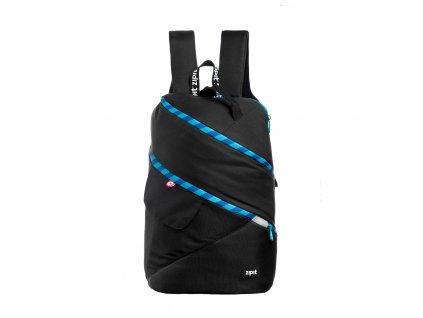 Zipit Looper batoh Premium Black + Turquoise