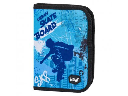 skolni penal klasik dve chlopne skateboard 754532 27