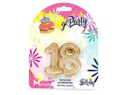 o Party Swieczki urodzinowe 18 lat 5903293175057