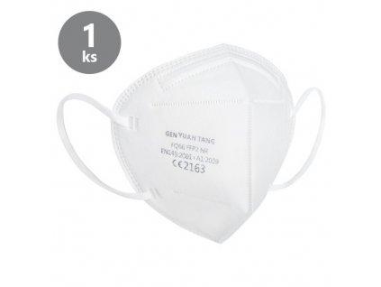 ochranny respirator ce2163 ffp2 hygienicky baleny po 1 ks