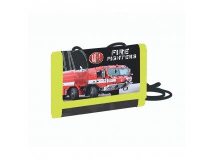 Dětská textilní peněženka - Tatra - hasiči 2021