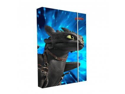 Box na sešity A4 Jumbo Jak vycvičit draka 2021