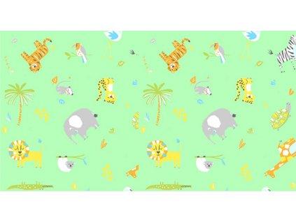 Ubrus 65x50cm PVC - animals