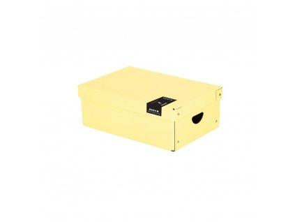 Krabice lamino malá PASTELINI žlutá