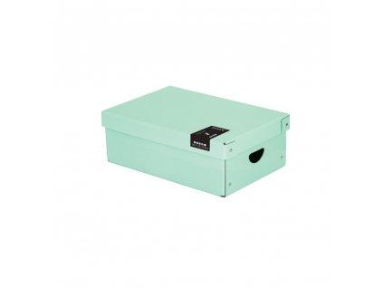 Krabice lamino malá PASTELINI zelená