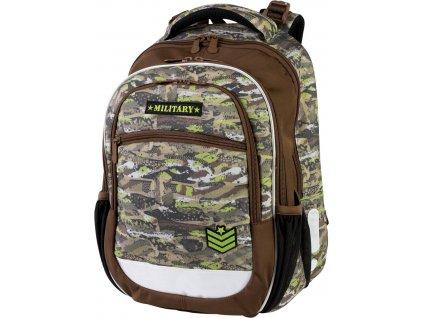 Školní batoh pro prvňáčky - Stil - Military