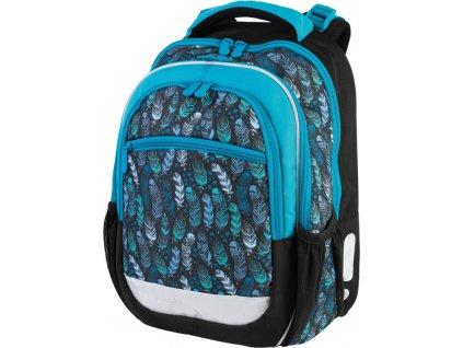Školní batoh pro prvňáčky - Stil - Indian blue