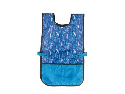 Zástěrka na výtvarnou výchovu Stil - Indian blue PONČO
