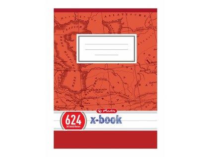 Sešit A6, 20 listový - linkovaný 624