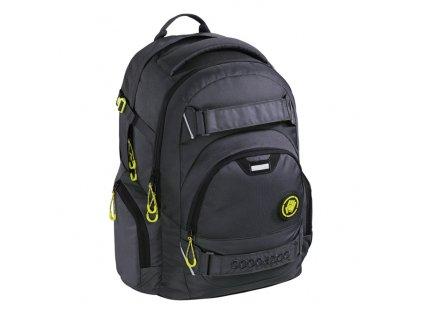 Školní batoh Coocazoo CarryLarry2 - Solid Shadowman  + sluchátka hama zdarma