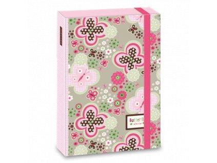 Ars Una Box na sešity Butterfly A4