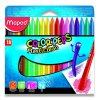 Plastové pastely Maped Color'Peps Plasticlean - 18 barev