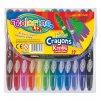 Colorino voskovky TWIST-UP vysouvací 12 barev