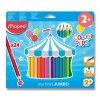 Pastelky Maped Color'Peps Jumbo - 24 barev, trojhranné