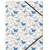 Pouzdro klopové na dokumenty A4 Motýlci
