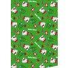 Balící papír Vánoce - Hello Kitty 2ks