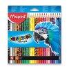 Pastelky Maped Color'Peps zvířátka - 24 barev