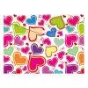 obal pp s patentkou a4 love hearts