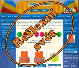 Reflexní svět - reflexní doplňky, samolepky, reflexní prvky