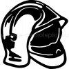 Samolepka - Hasičská helma