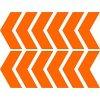 Reflexní šipky - oranžové
