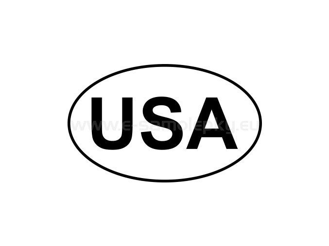 Samolepka - MPZ - USA - BEZ BÍLÉHO PODKLADU