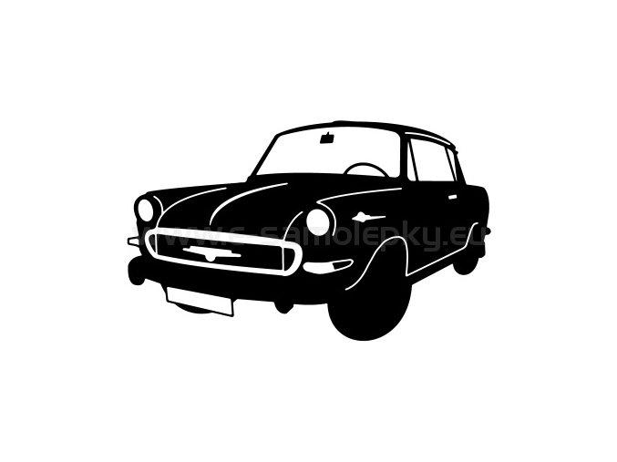Samolepka - Škoda 1000 MBX