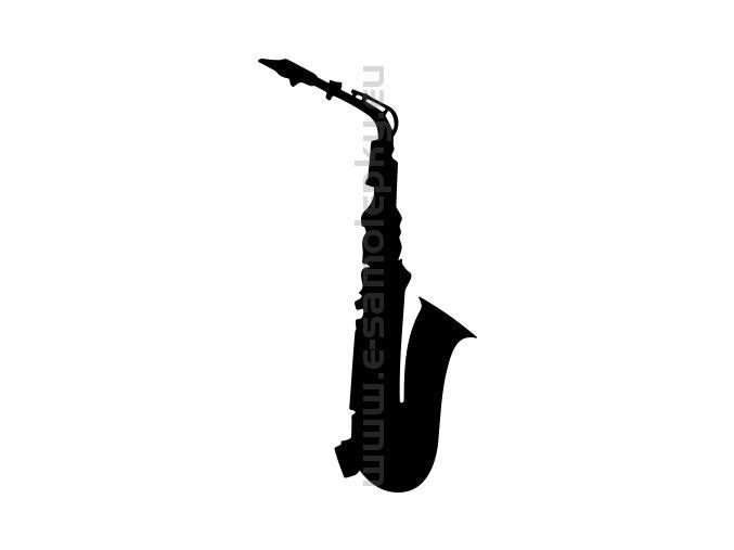 Samolepka - Saxofon 02