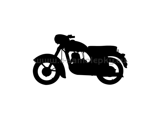 Samolepka - Jawa 350 Kývačka