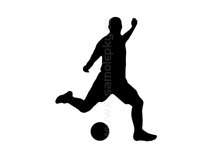 Samolepka - Fotbalista 08