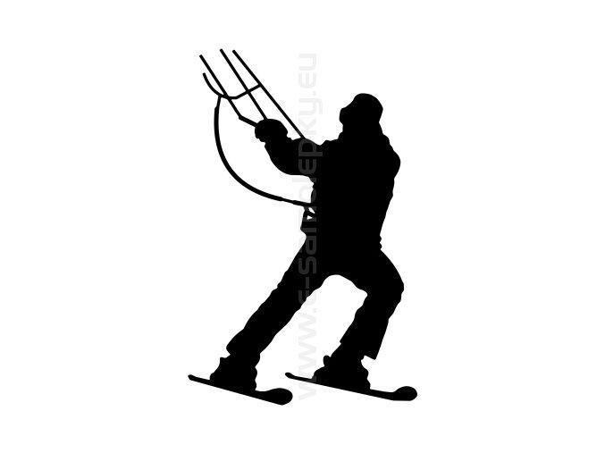 Samolepka - Kiting 02